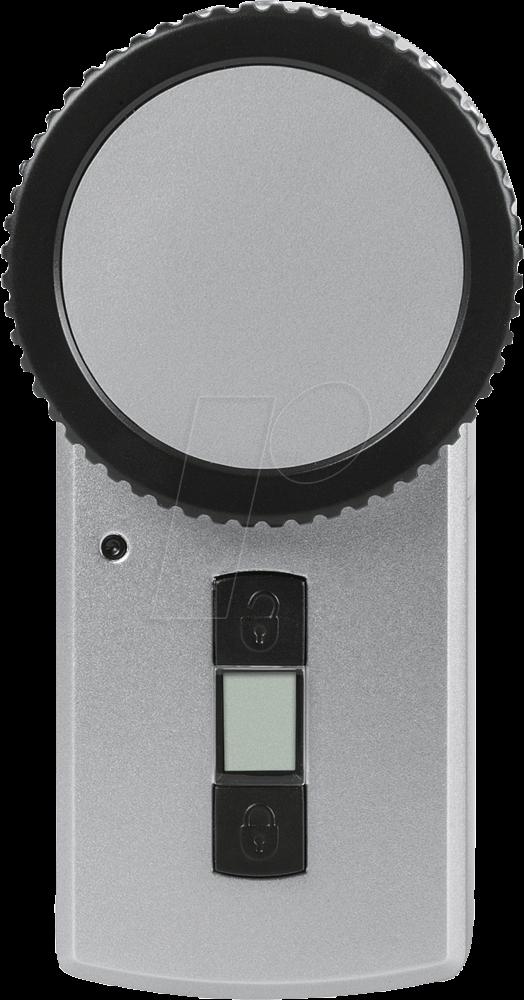 HM SEC KEYS - Wireless Door Lock Actuator KeyMatic, silver