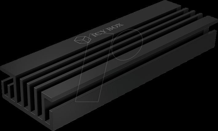 ICY IB-M2HS-70 - Kühlkörper für M.2 SSD 2280, Aluminium