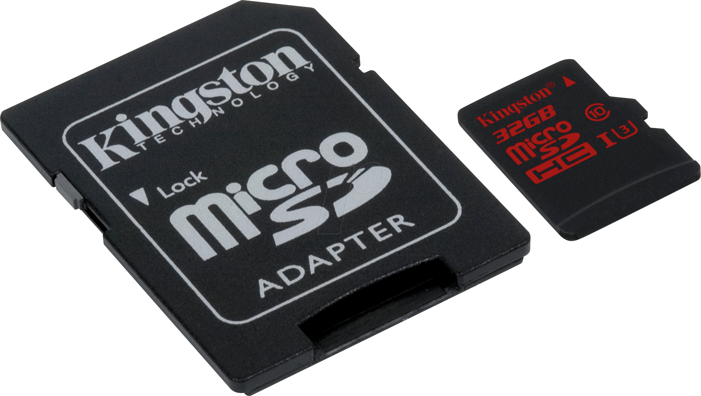 SDCA3/32GB - MicroSDHC-Speicherkarte 32GB - Kingston Class U3