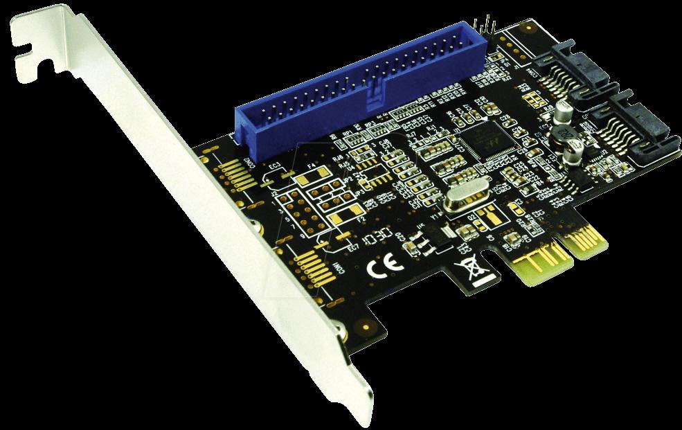 LOGILINK PC0064: PCIe RAID controller card, SATA 6 Gbps + IDE at