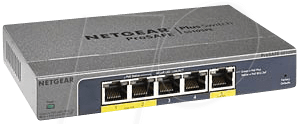 NETGEAR 105PE100 - Switch, 5-Port, Gigabit Ethe...