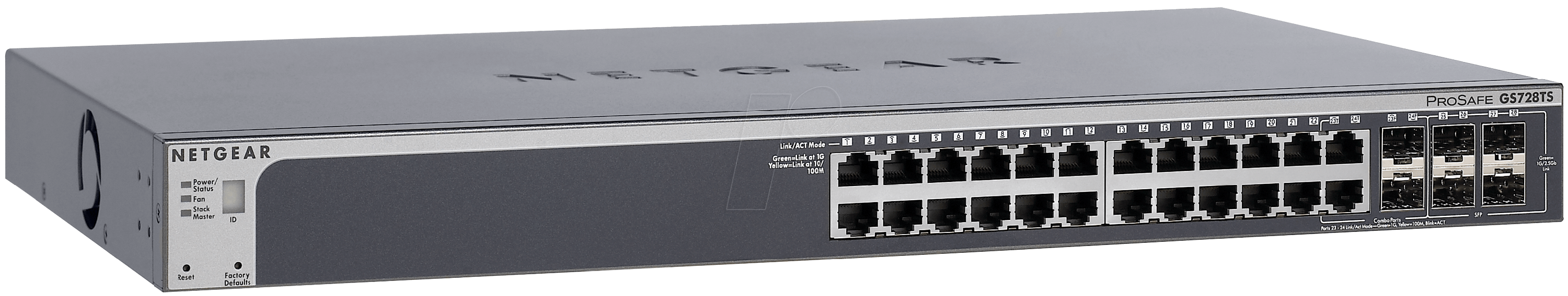 GS752TSB - Switch, 52-Port, Gigabit Ethernet, PoE