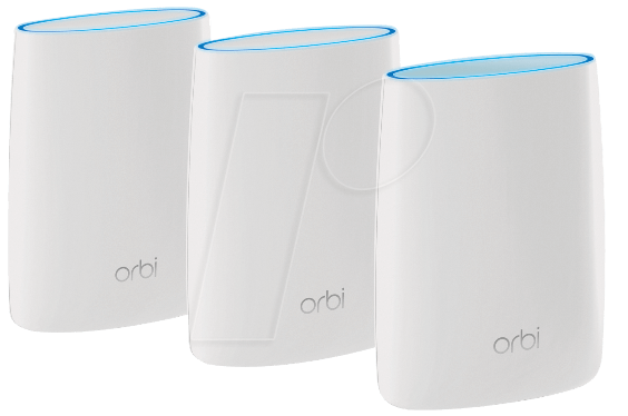 Netgear Rbk53 Orbi Whole Home Ac3000 Tri Band Wifi System