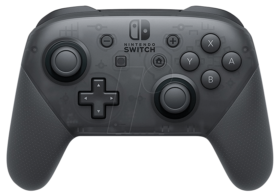 NINT CO 2510466 - Nintendo Switch Pro Controller, black