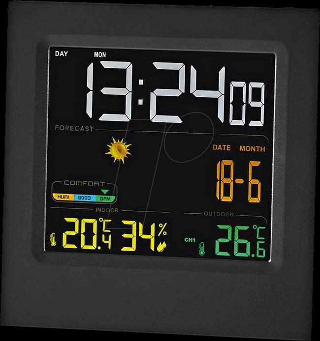 N WEST404BK - Wetterstation