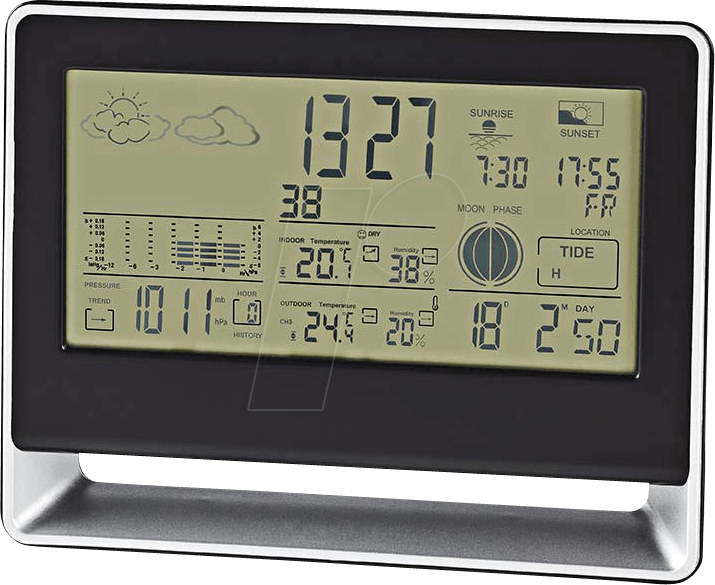 N WEST405BK - Wetterstation