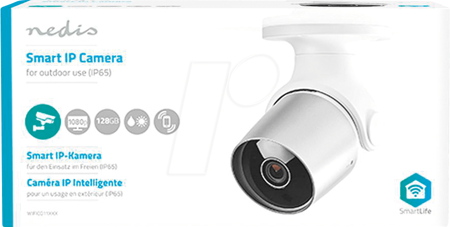 N WIFICO11GWT - Wi-Fi Smart IP Camera, Outdoor