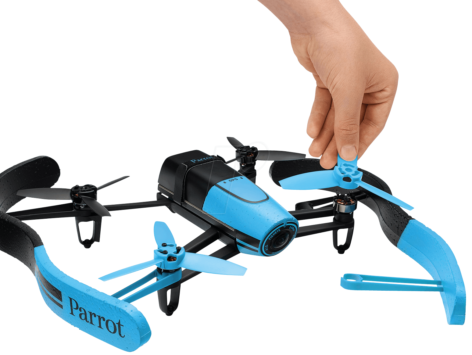 parrot bd blau s quadrocopter parrot bebop drone. Black Bedroom Furniture Sets. Home Design Ideas