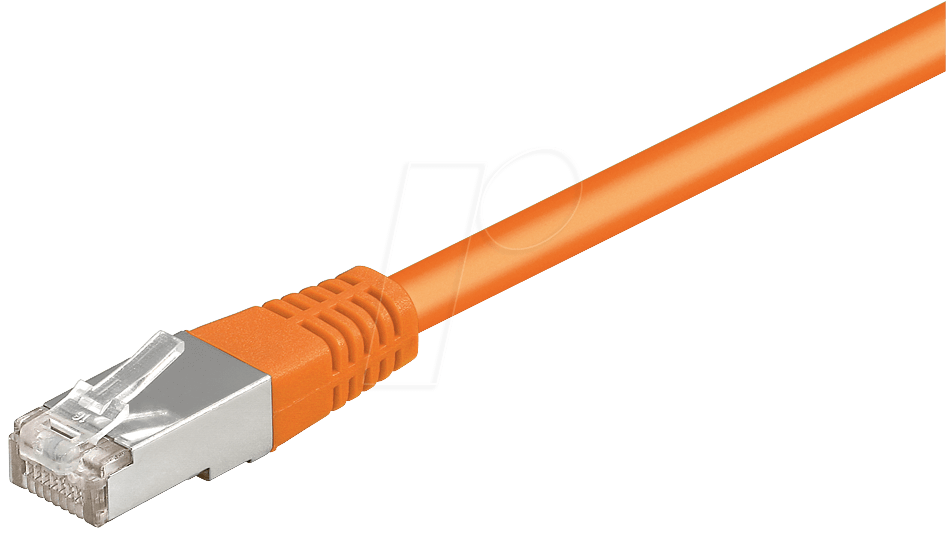 Cat 1 Cable : Patchkabel or m cat e cable orange network