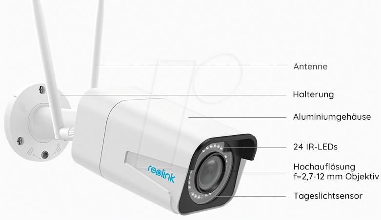 REO RLC-511W - IP Camera, LAN, WiFi, outdoor