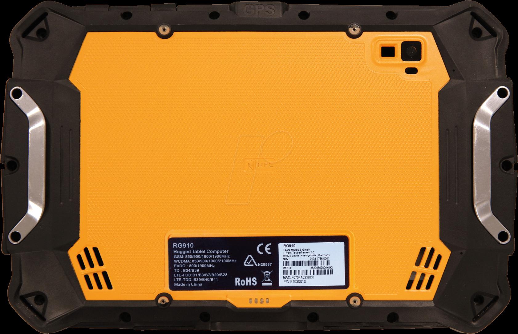 6e98791f2 RUGGEAR RG910  Tablet