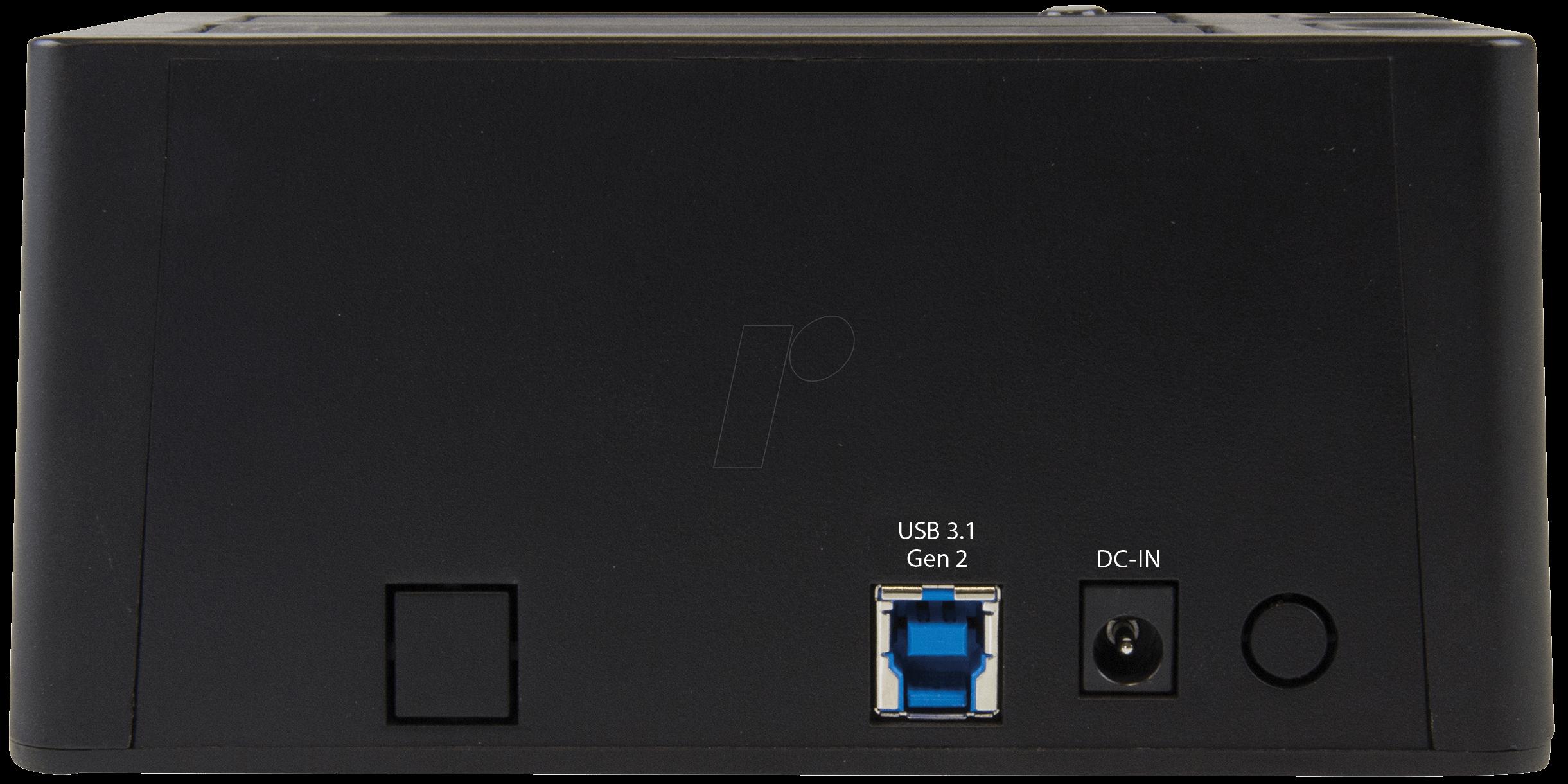 "Startech.com Usb 3.1 Gen 2 Dual-bay Dock For 2.5/""//3.5/"" Sata Ssd//hdds 10gbps"