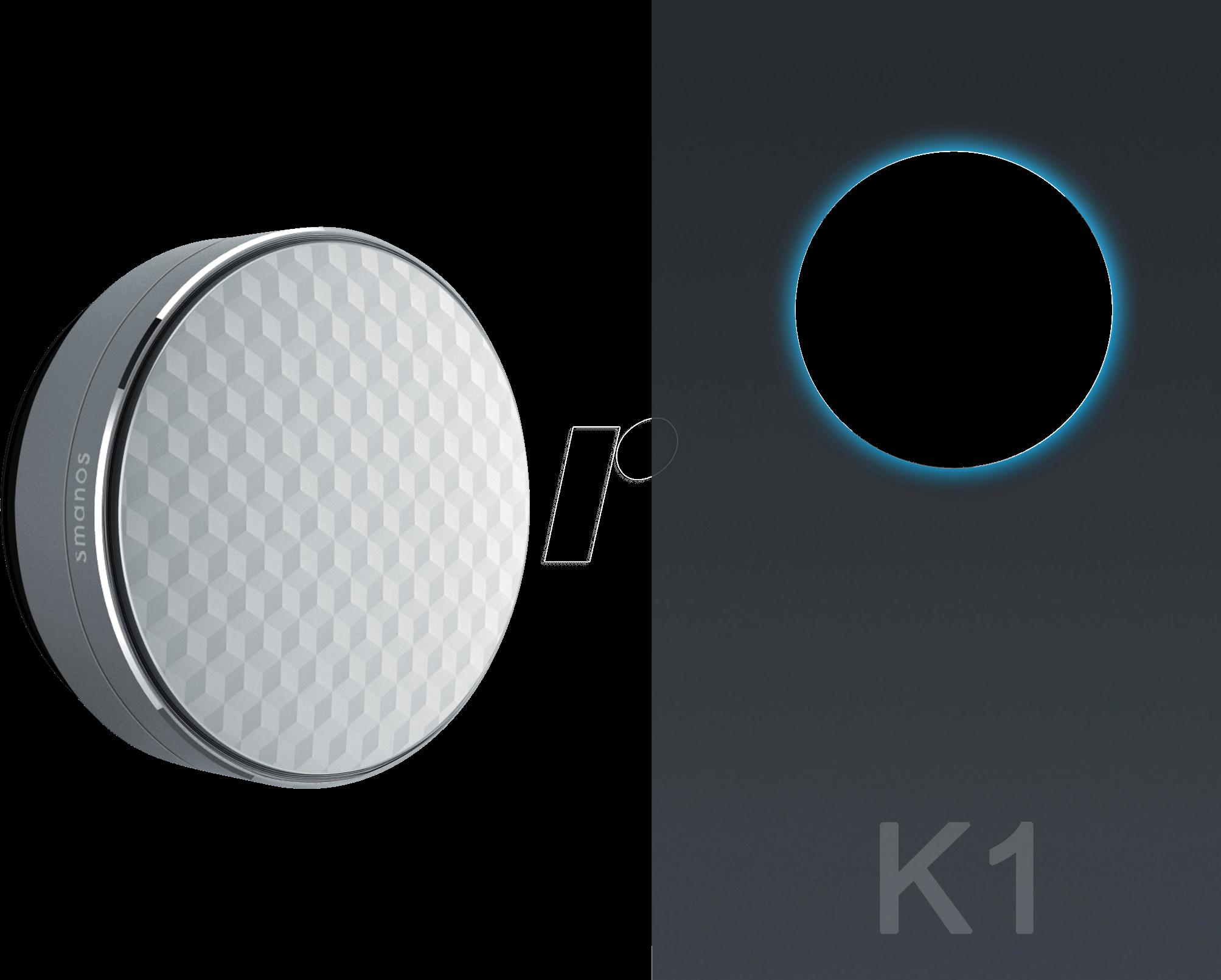 SMANOS K1 - Sicherheitssystem Smart Home, Starter Kit