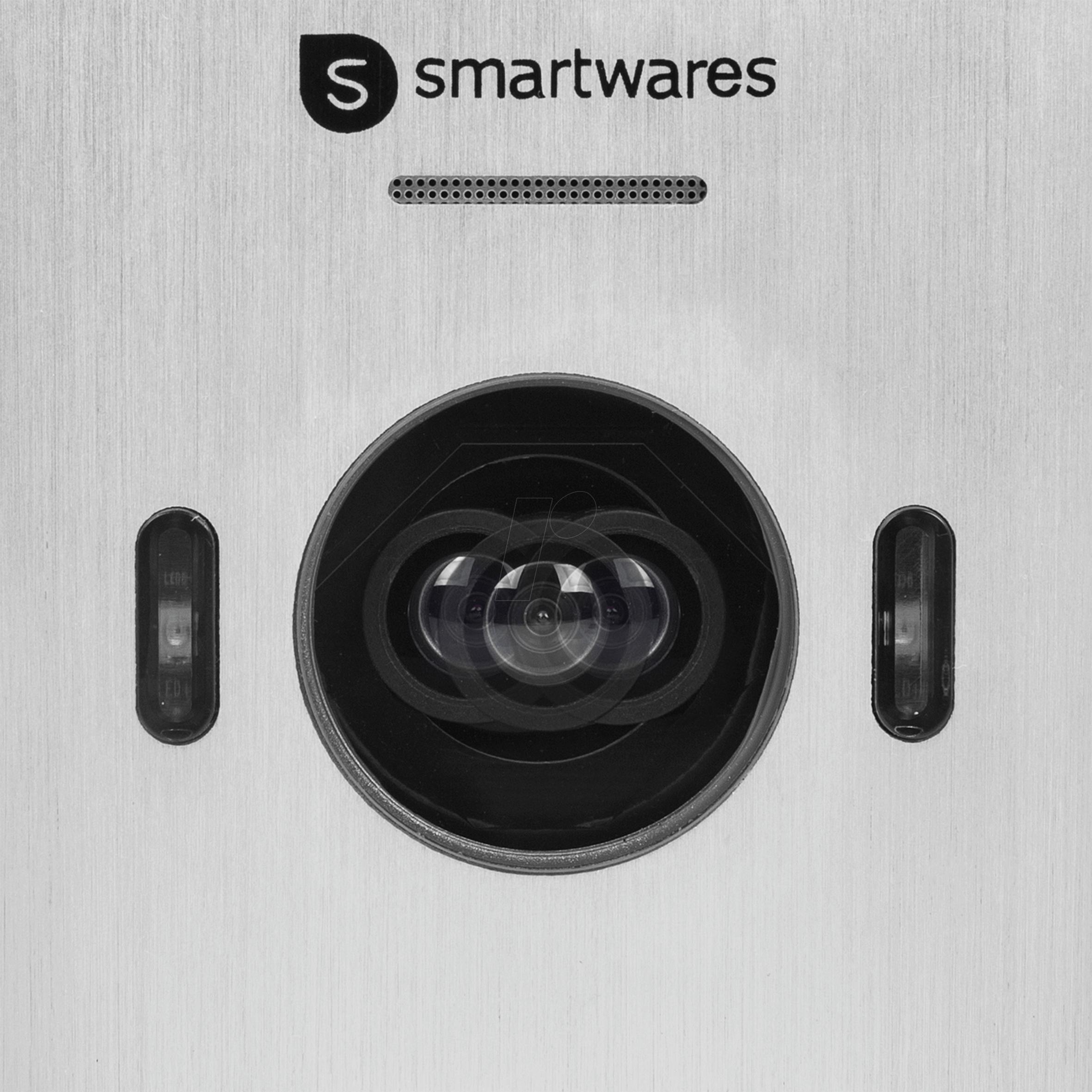 SW DIC-22132: Video-Türsprechanlage für 3 Wohneinheiten bei reichelt ...