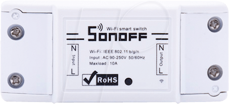 SONOFF RF1 - Sonoff RF - single-channel WiFi switch actuator/433 MHz