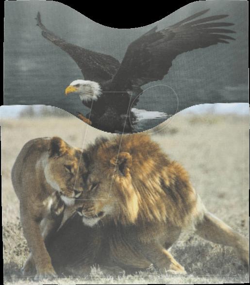 SOOMZ RSPFAU - RFID-Schutzhüllen, Passport Fauna