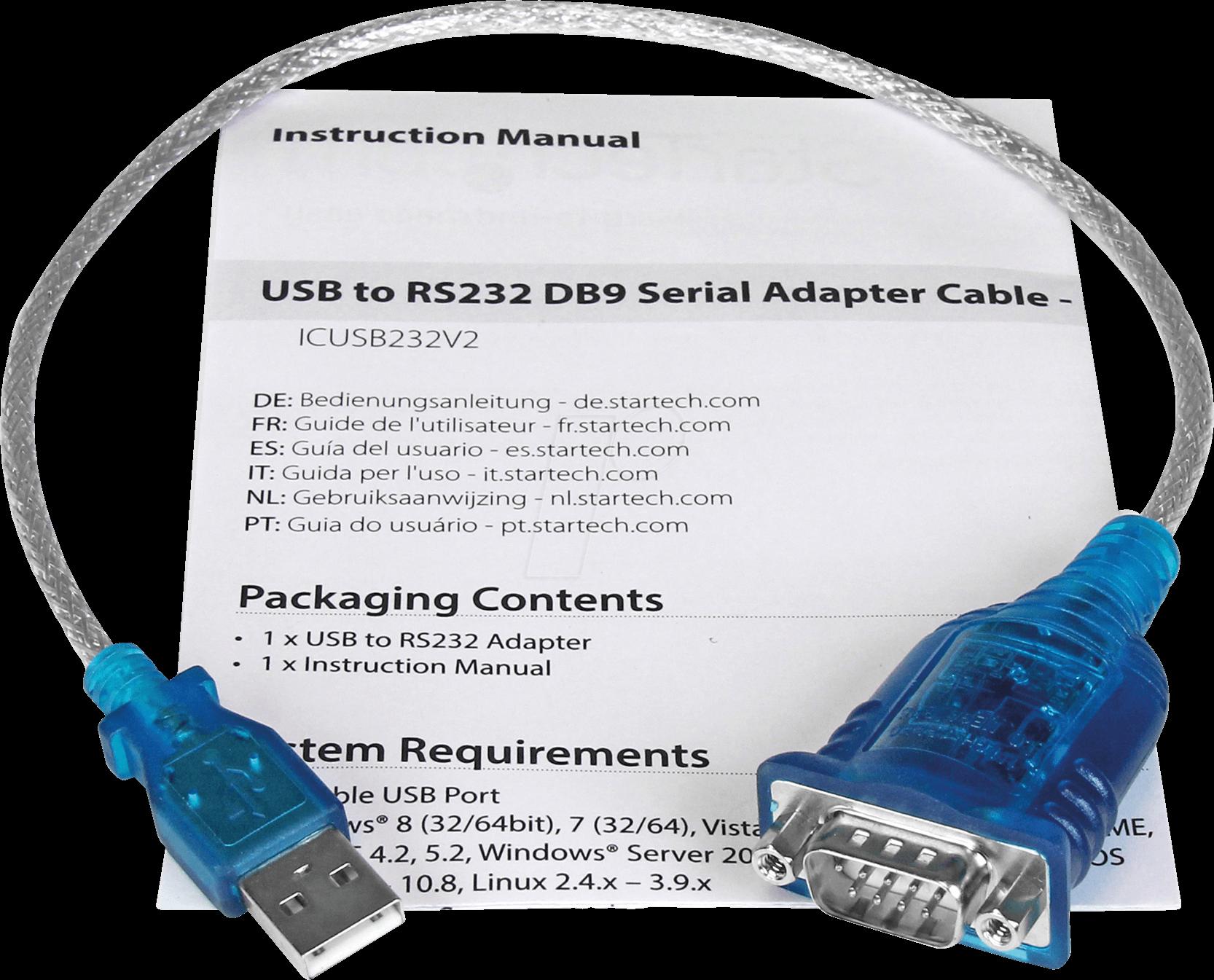 Konverter  #n863 DSUB9 USB auf 4x Seriell