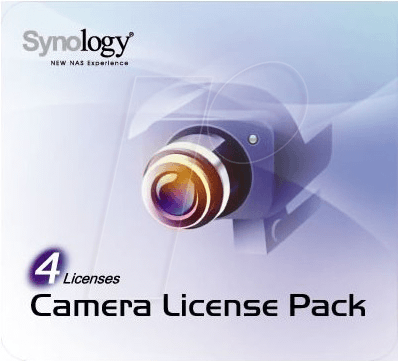SYNOLOGY CLP4 - Synology Licence Pack 4 Camera
