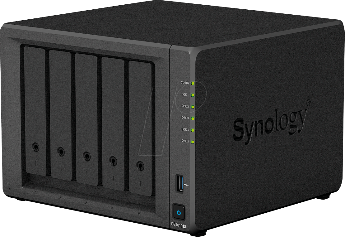 SYNOLOGY DS1019+ - NAS Server DiskStation DS1019+