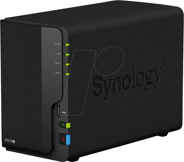 SYNOLOGY 218+16 - NAS-Server DiskStation DS218+ 16 TB HDD