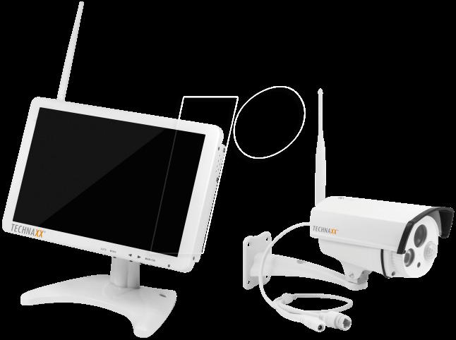 4641 - Monitor mit HD Außenkamera, 720p, 10,1''