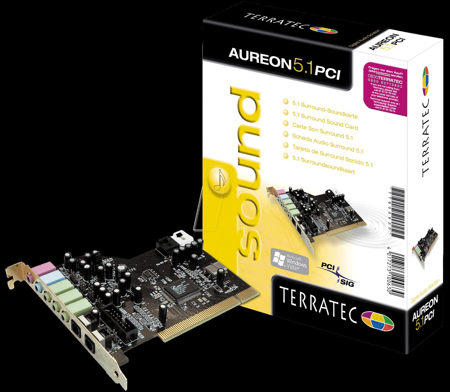 Terratec aureon 5. 1 fun 5. 12. 1. 639 (free) download latest.