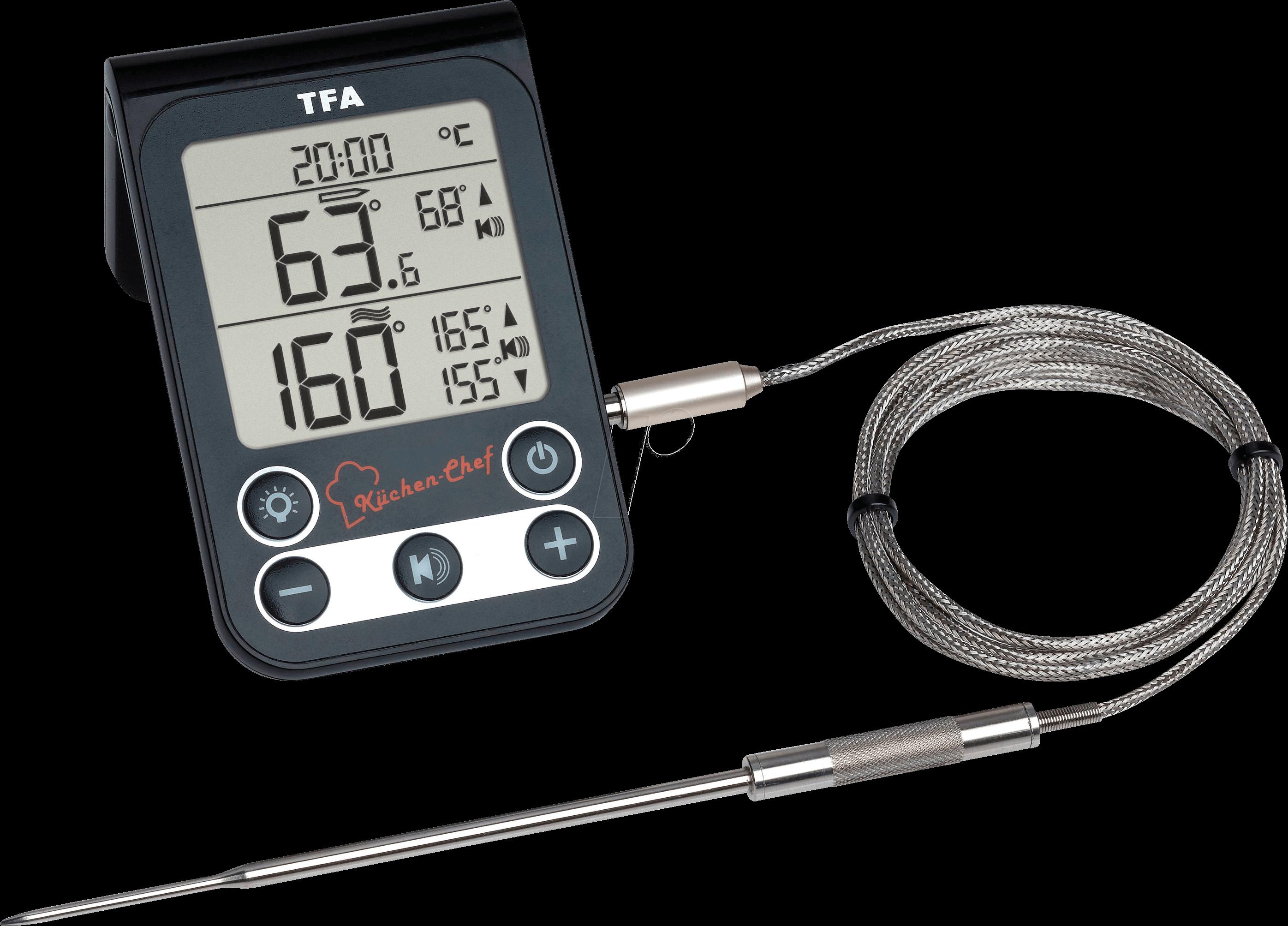 TFA 14151201 - Grill-roast / oven thermometer, digital