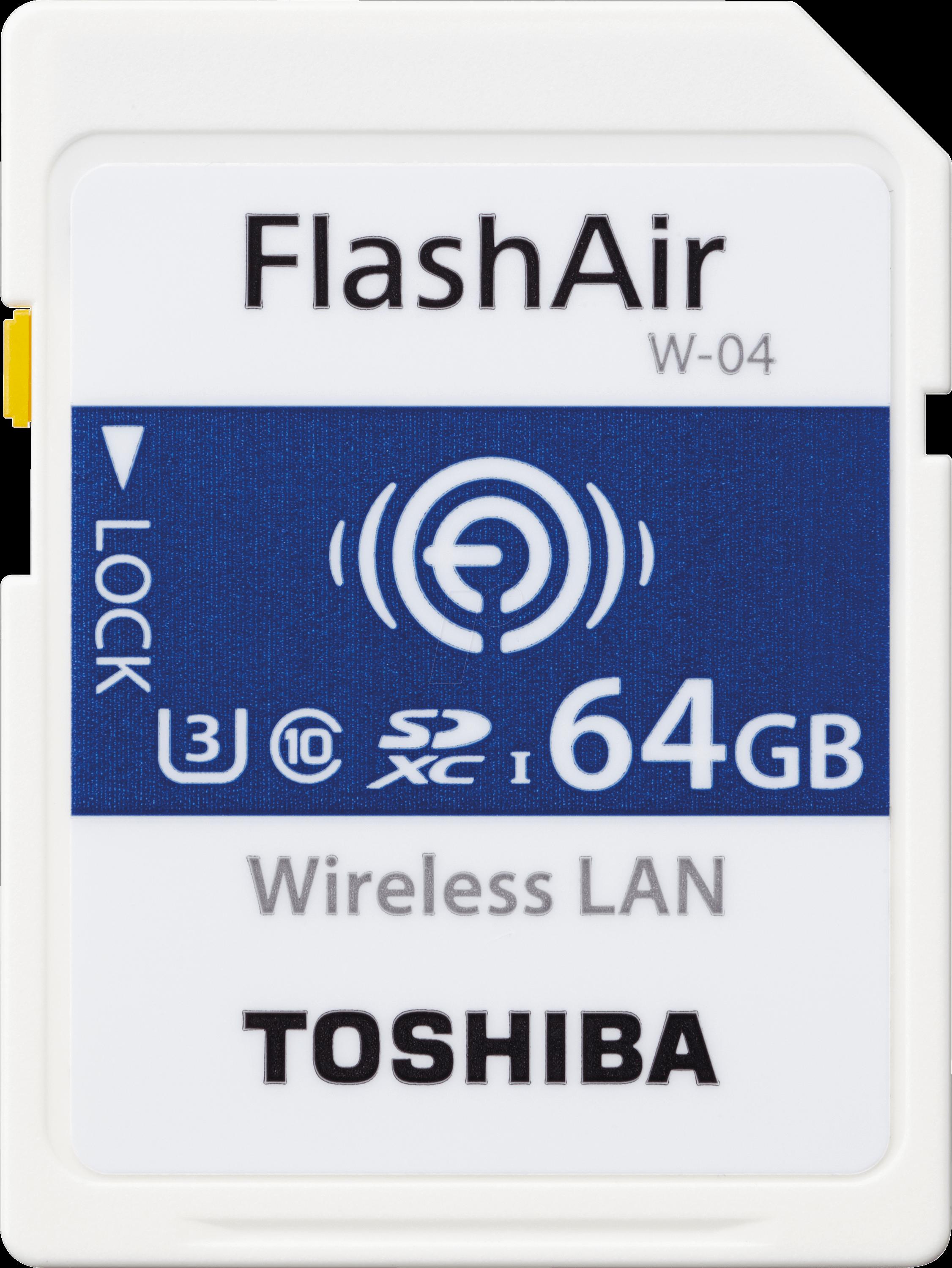 TOS W-04 64GB - SDXC-Speicherkarte 64GB, FlashA...