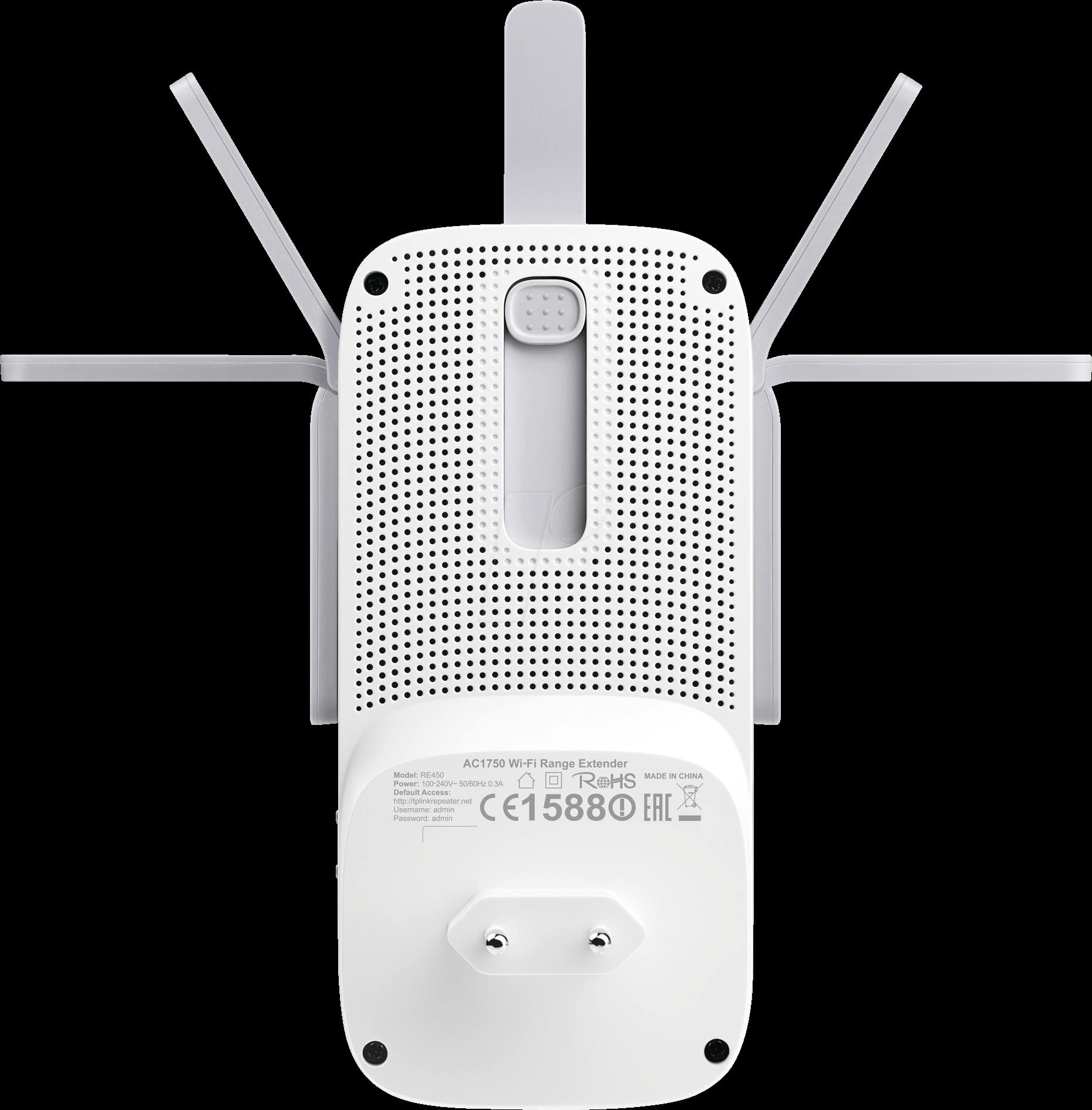 TPLINK RE450 - AC1750 Wi-Fi Range Extender