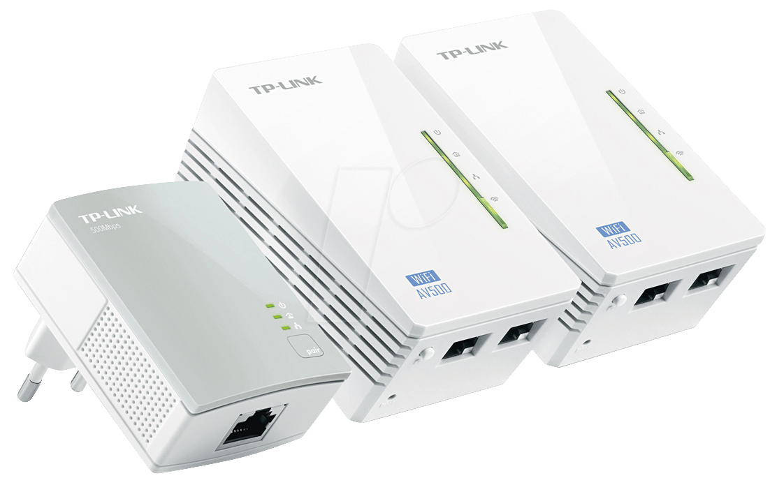 tplink wpa4220tk 500 mbps powerline lan wifi extender kit. Black Bedroom Furniture Sets. Home Design Ideas