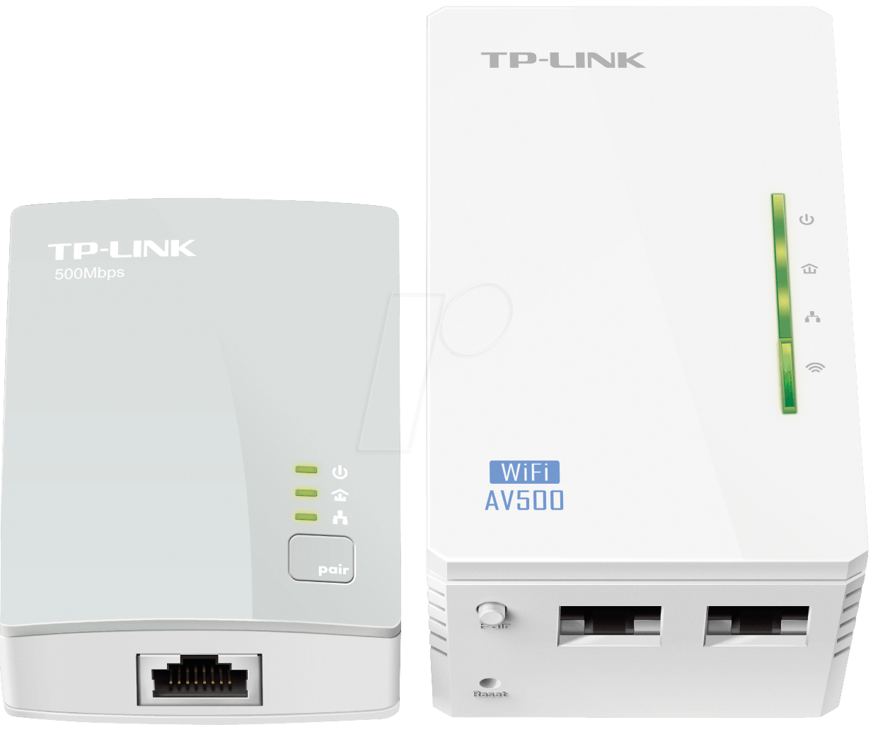 tplink tlwpa4220 powerline extender kit wlan 2 ger te bei reichelt elektronik. Black Bedroom Furniture Sets. Home Design Ideas