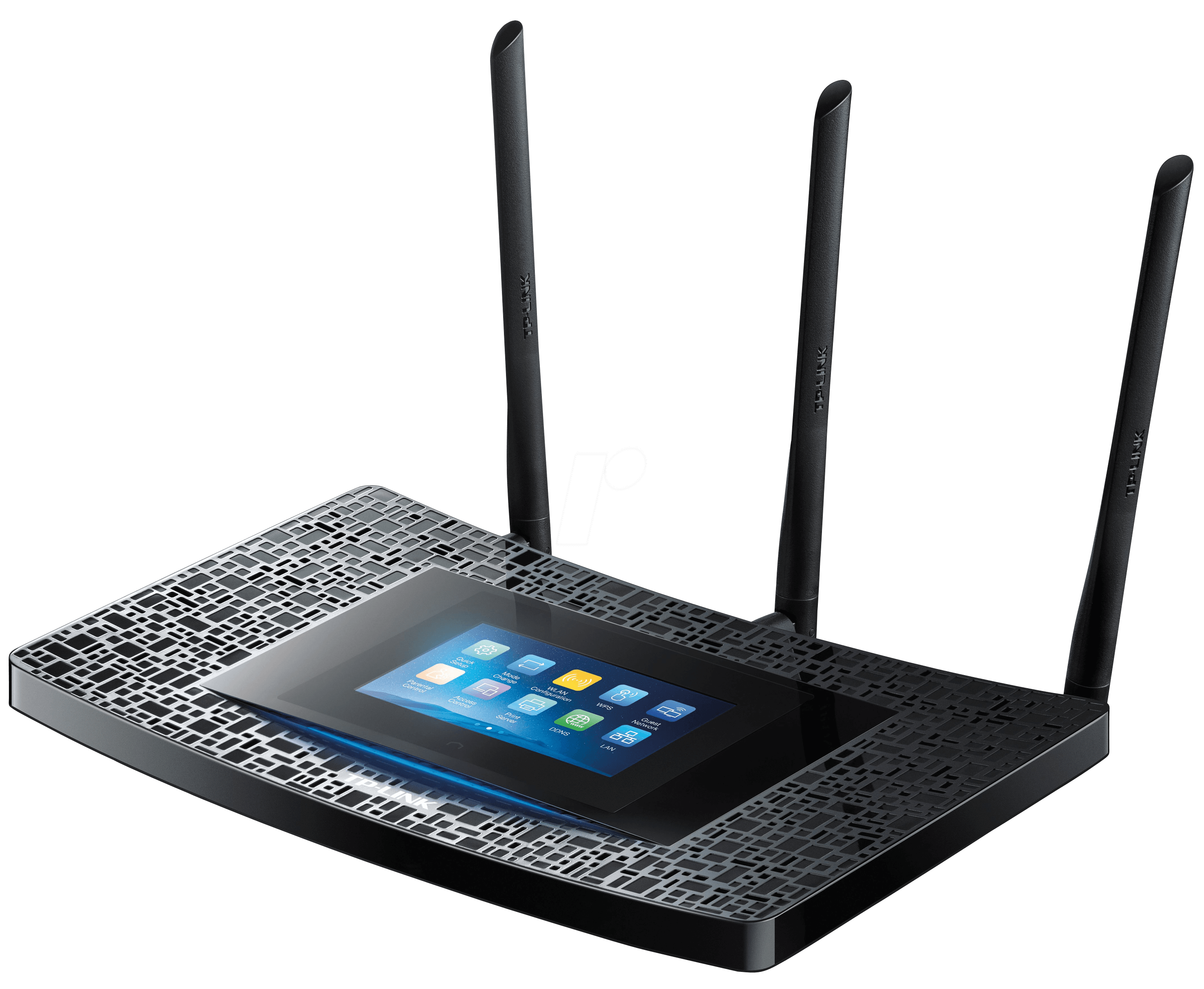 tplink touch p5 wlan router 2 4 5 ghz 1900 mbit s bei reichelt elektronik. Black Bedroom Furniture Sets. Home Design Ideas