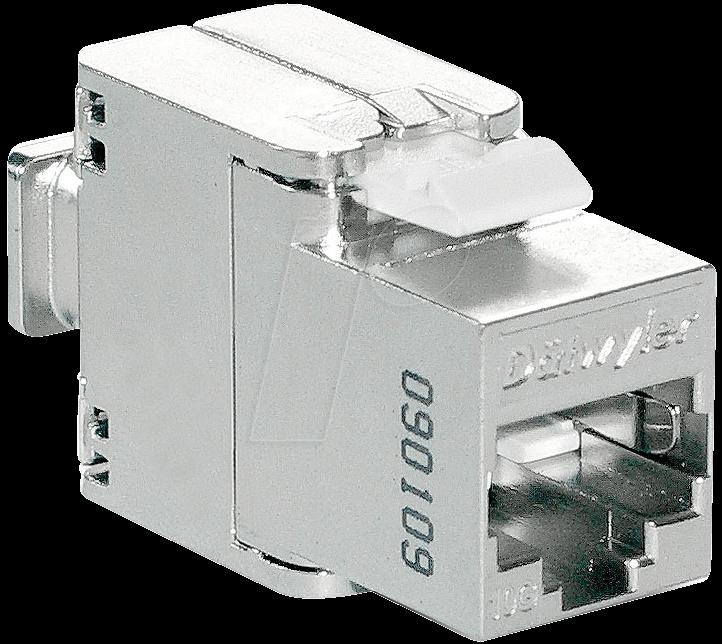 UNILAN 418054 - RJ45 Modul geschirmt Cat.6/E, Werkzeugfrei