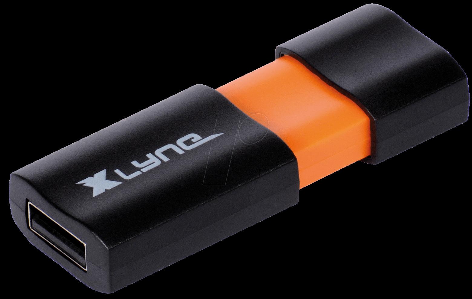 XLYNE 7104000 - USB-Stick, USB 2.0, 4 GB, WAVE