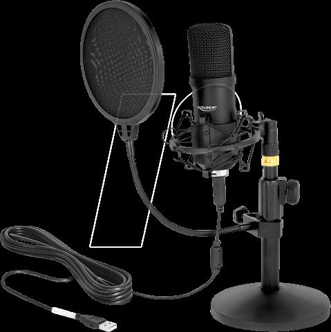 DELOCK 66300: USB Condenser Microphone Set at reichelt elektronik