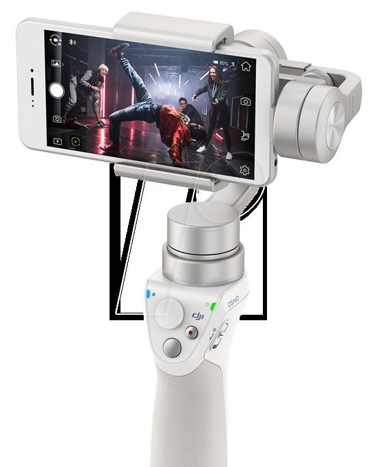 DJI OM150 SI - Gimbal, Smartphone, 300° Rotation, silber