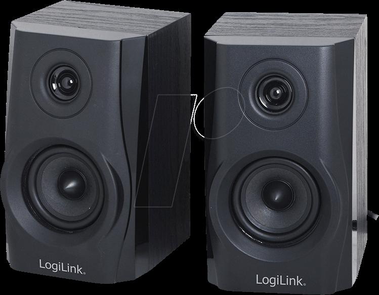 LOGILINK SP0028 Lautsprecher, PC Laptop, Stereo
