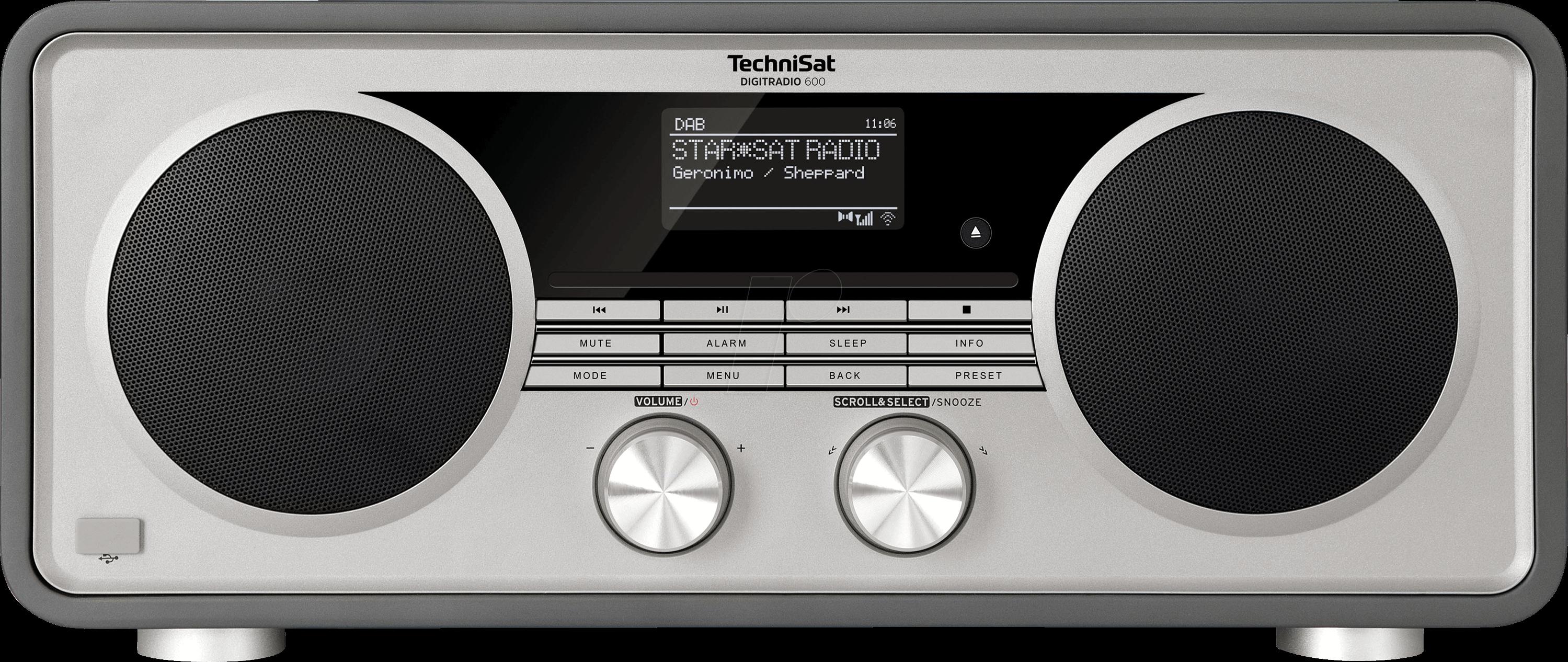 DIGITRADIO 600SW - DAB+ Digitalradio with Multiroom