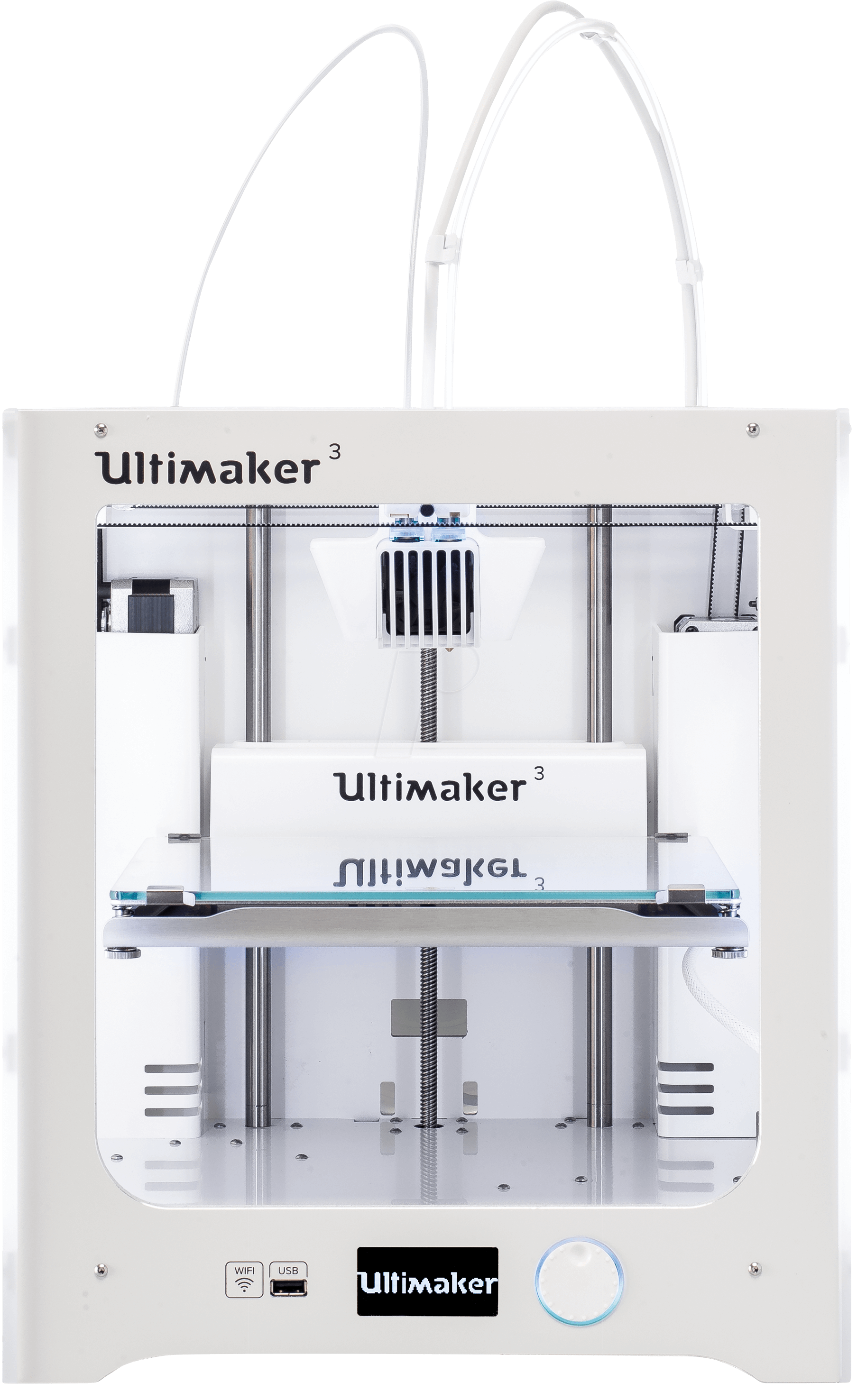 ultimaker 3 3d drucker ultimaker 3 bei reichelt elektronik. Black Bedroom Furniture Sets. Home Design Ideas