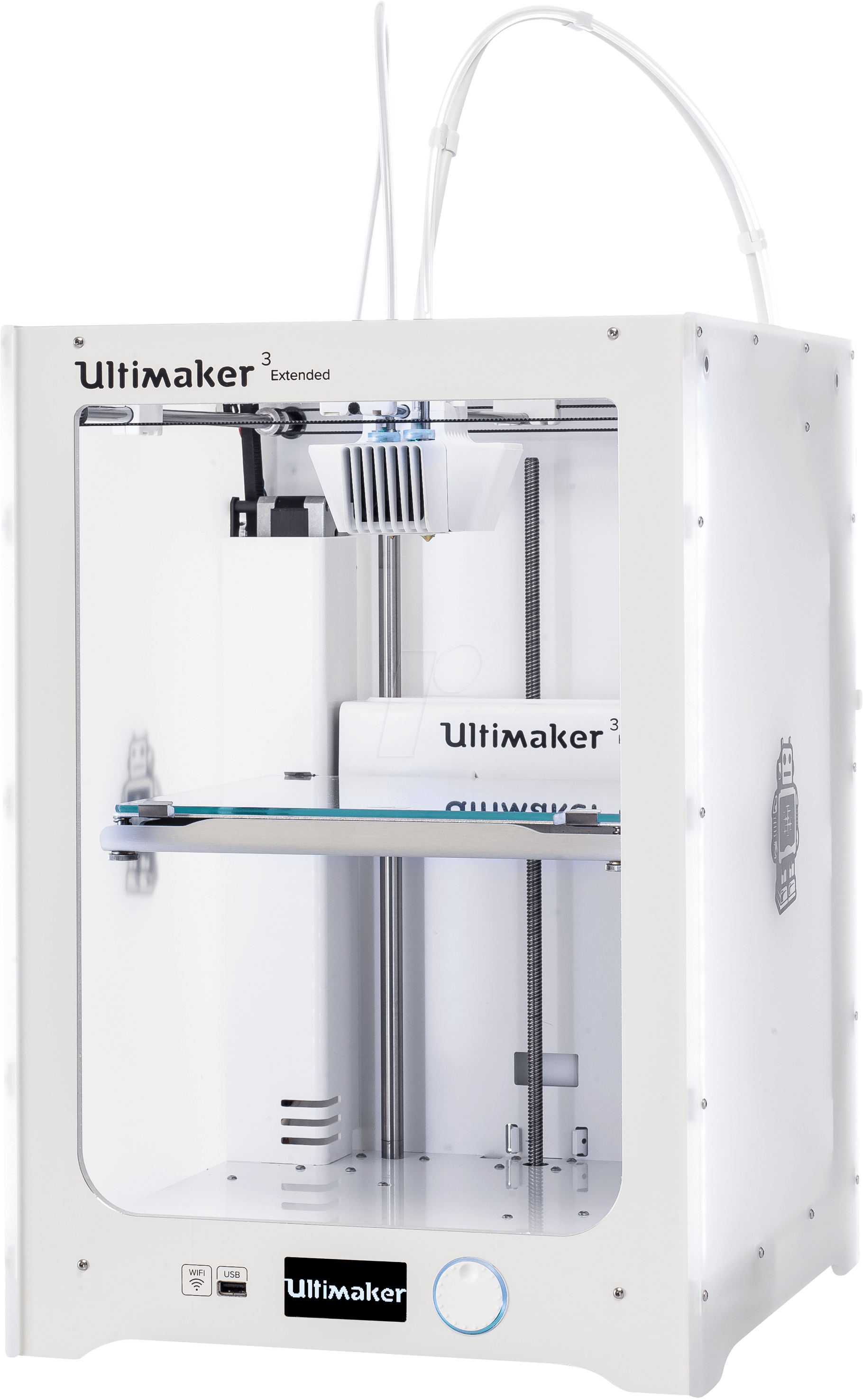 ultimaker 3 ext 3d drucker ultimaker 3 extended bei. Black Bedroom Furniture Sets. Home Design Ideas