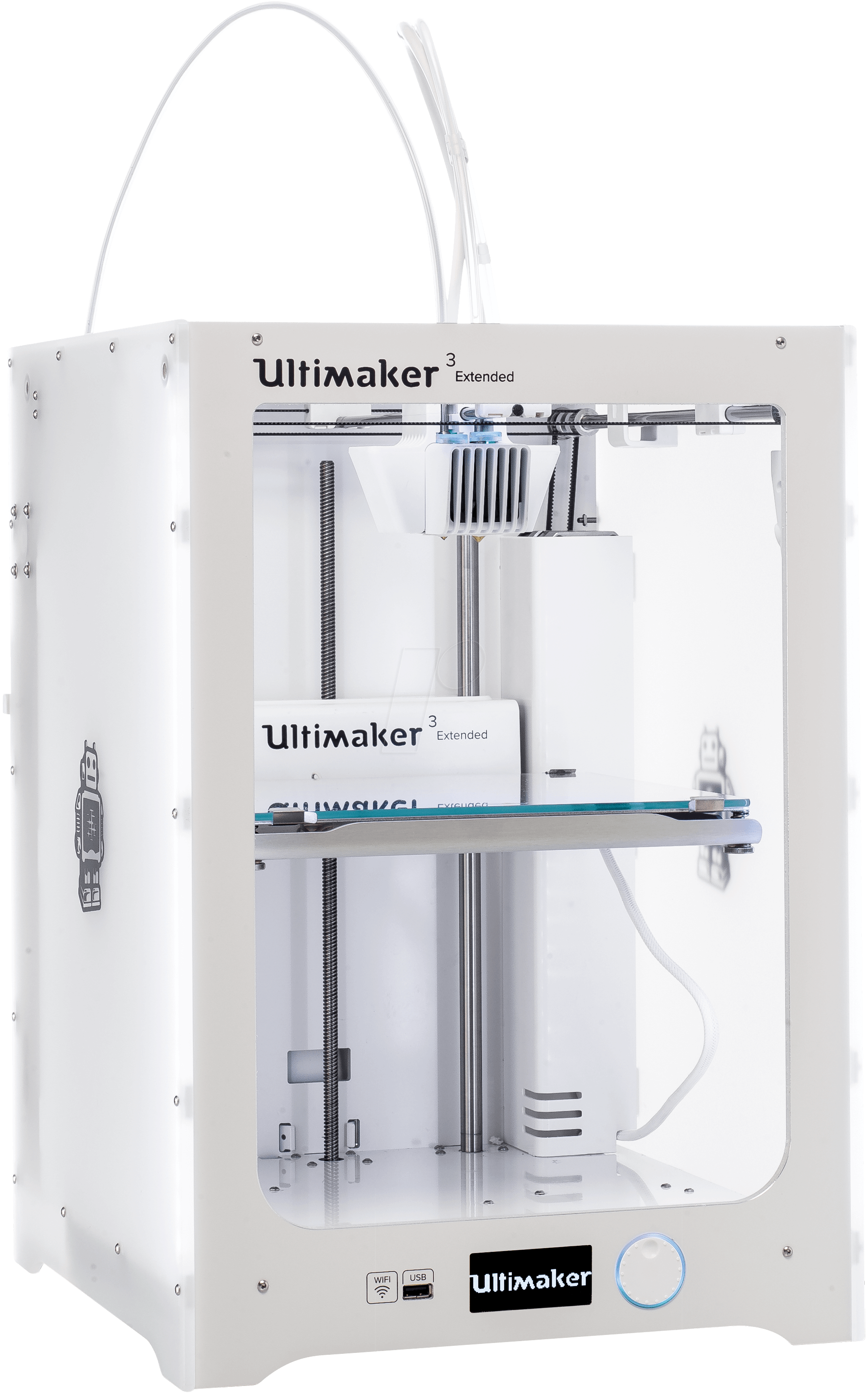 ultimaker 3 ext 3d drucker ultimaker 3 extended bei reichelt elektronik. Black Bedroom Furniture Sets. Home Design Ideas