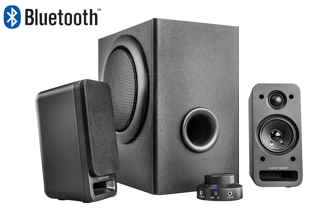 wm mx3 bt wavemaster 2 1 soundsystem mit bluetooth bei reichelt elektronik. Black Bedroom Furniture Sets. Home Design Ideas