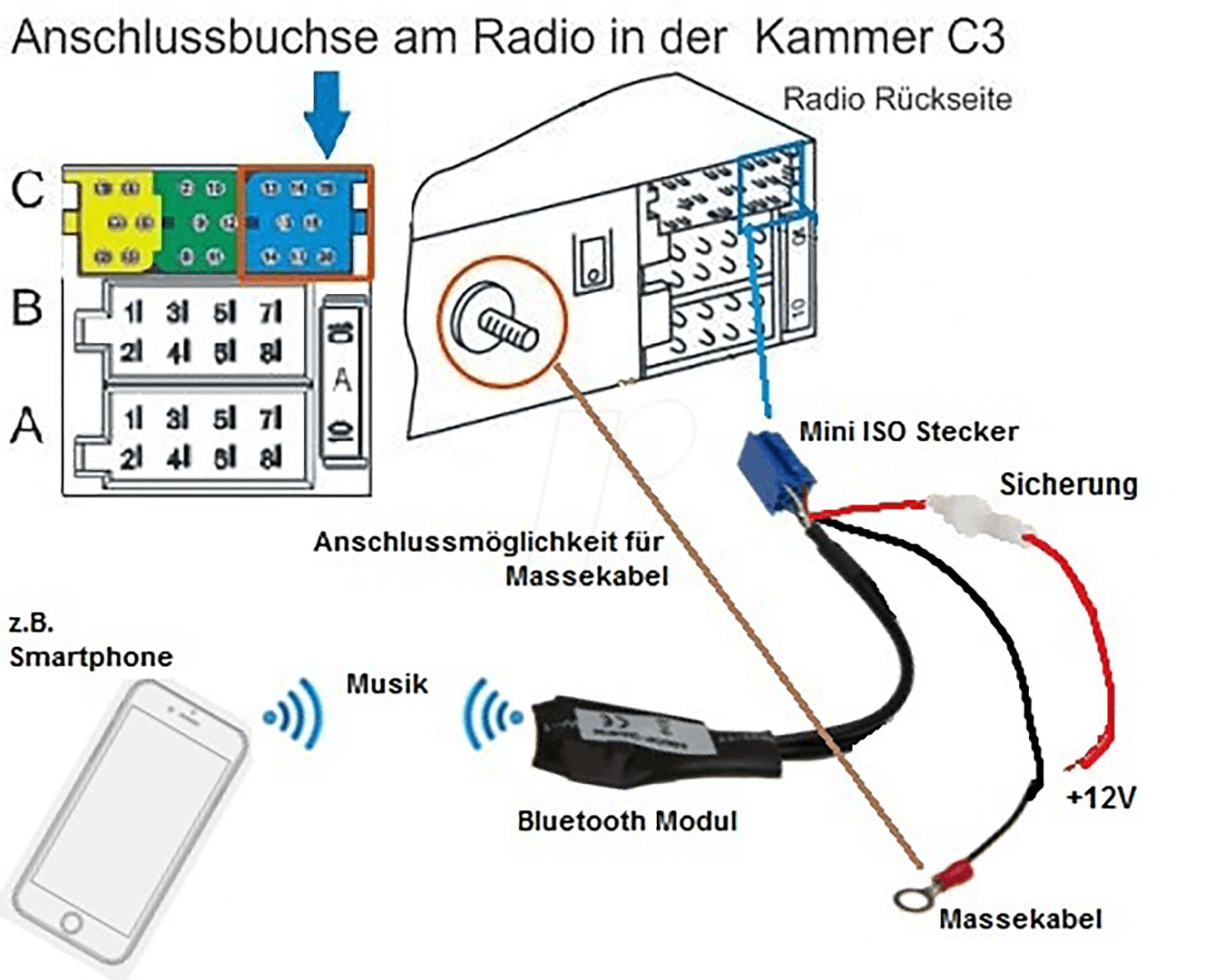 iso trailer wiring diagram au 5119 car stereo aux adapter at reichelt elektronik  au 5119 car stereo aux adapter at reichelt elektronik