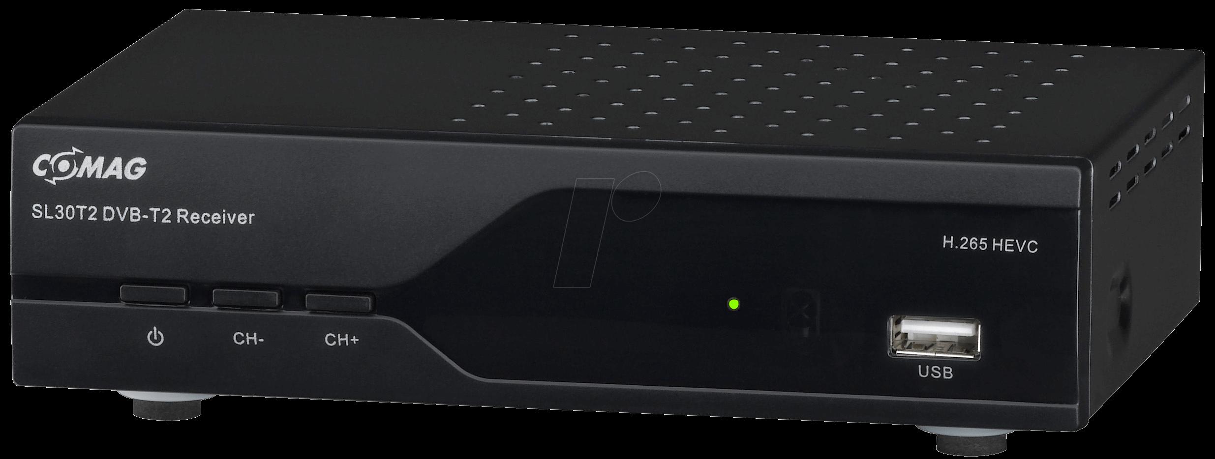 comag sl30t2 dvb t2 receiver free to air at reichelt elektronik. Black Bedroom Furniture Sets. Home Design Ideas