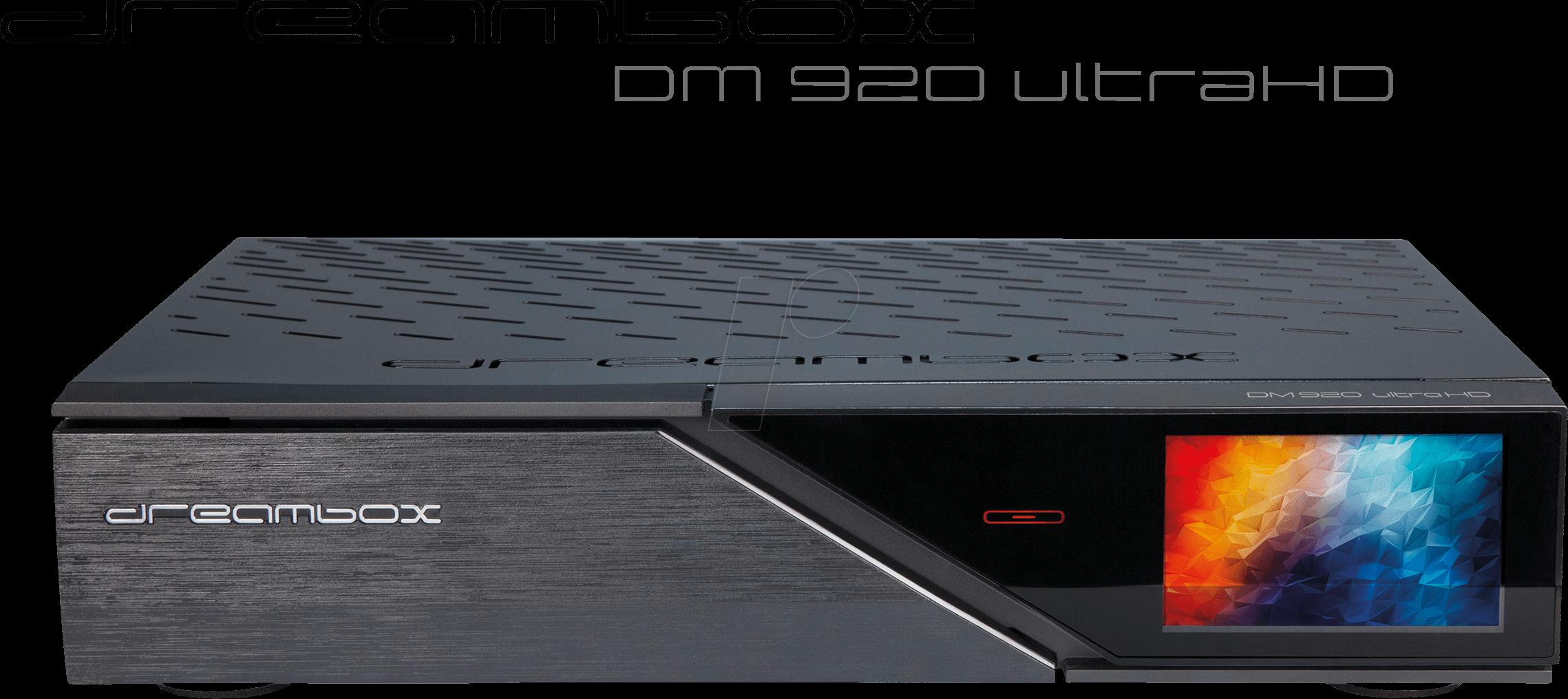 DM920UHD 2S2FBC - Receiver, SAT, 2x DVB-S2 FBC, UHD