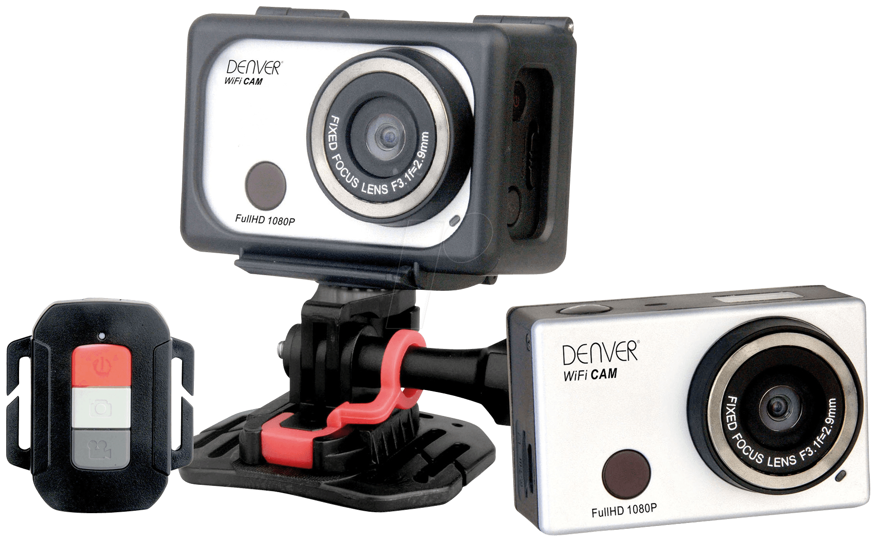 denver ac 5000w2 full hd action cam with wi fi function. Black Bedroom Furniture Sets. Home Design Ideas