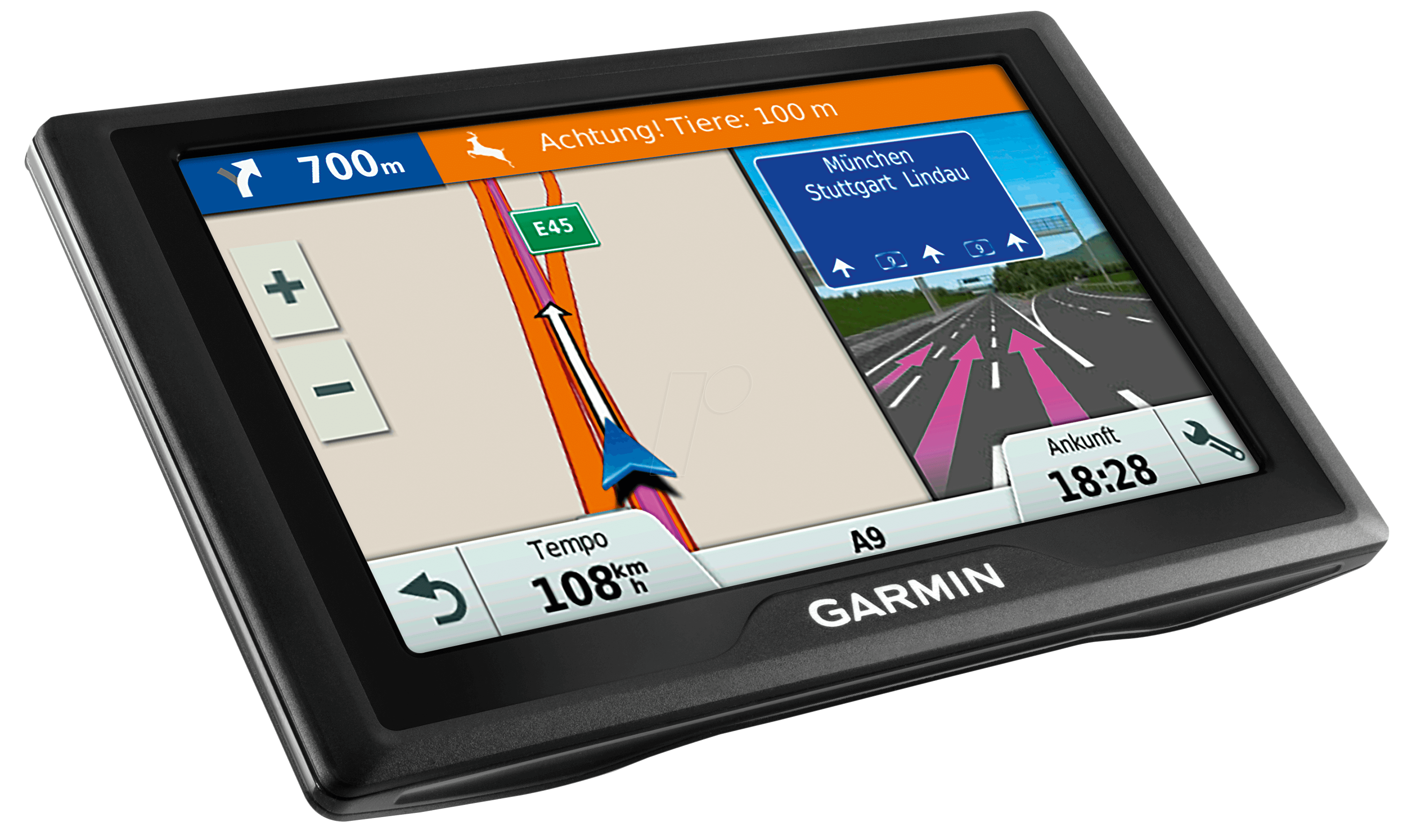 garmin d40ce syst me de navigation de 10 90 cm chez reichelt elektronik. Black Bedroom Furniture Sets. Home Design Ideas