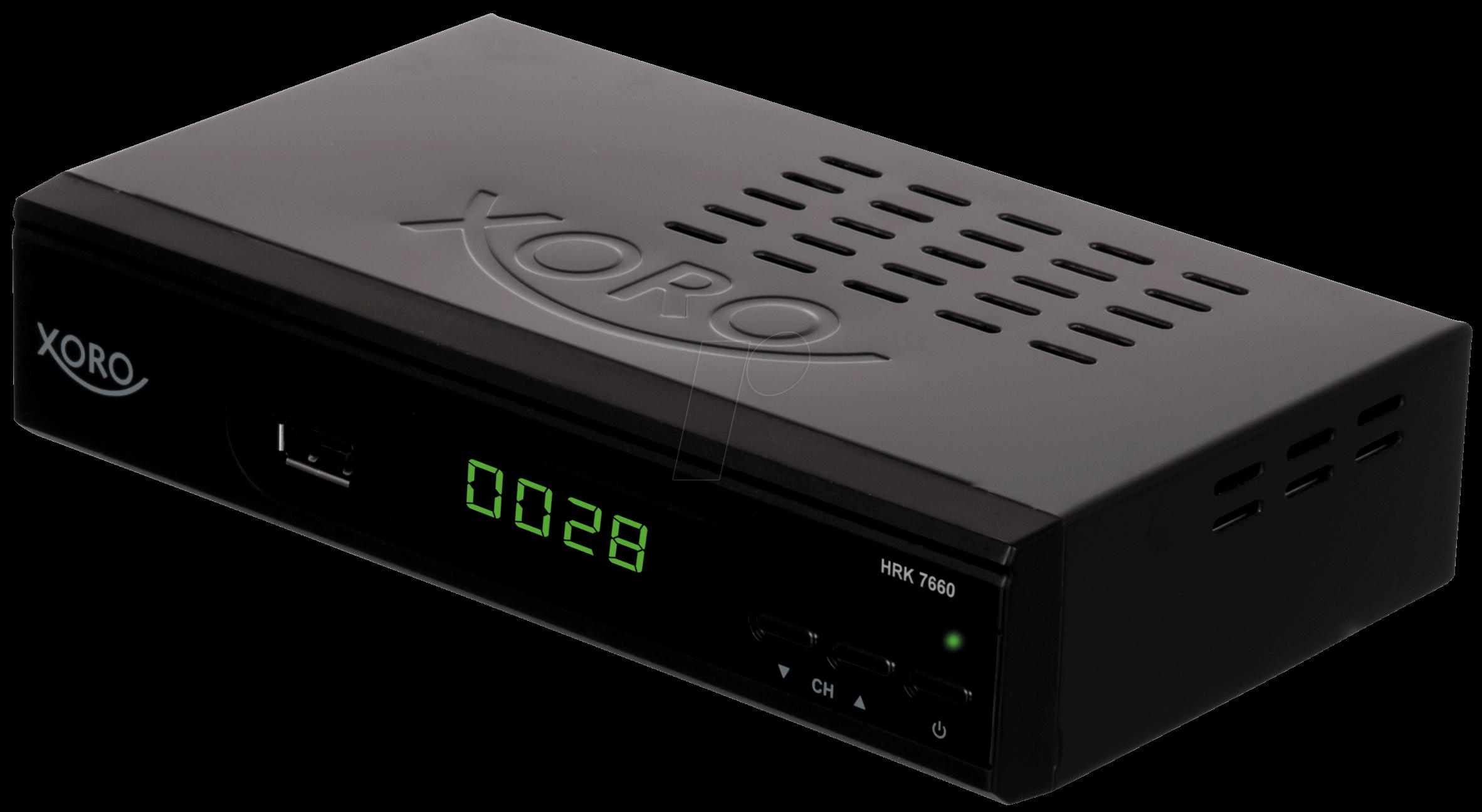 xoro hrk7660 receiver kabel dvb c hdtv bei reichelt elektronik. Black Bedroom Furniture Sets. Home Design Ideas