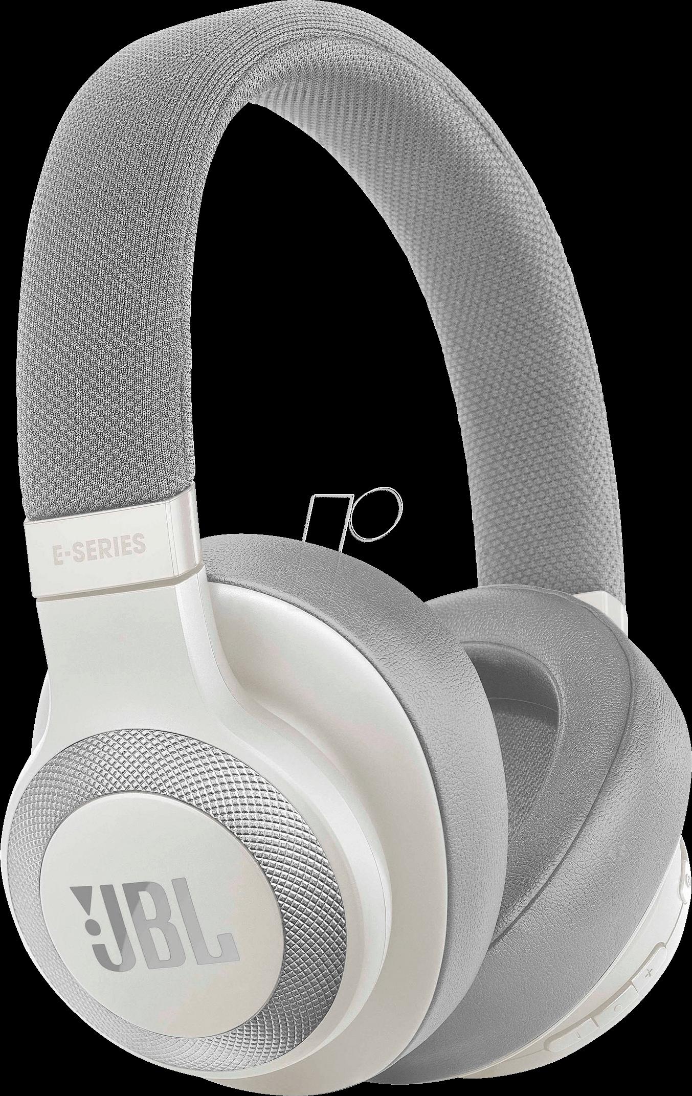 47556f0fd7d Bluetooth® over-ear noise cancelling headphones, white JBL JBLE65BTNCWHT