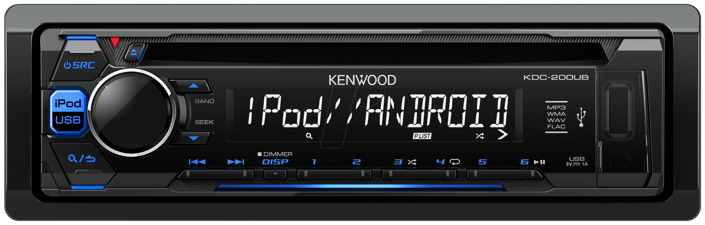 kw kdc 200ub cd receiver ipod iphone direct control at cd receiver ipod iphone direct control kenwood kdc200ub